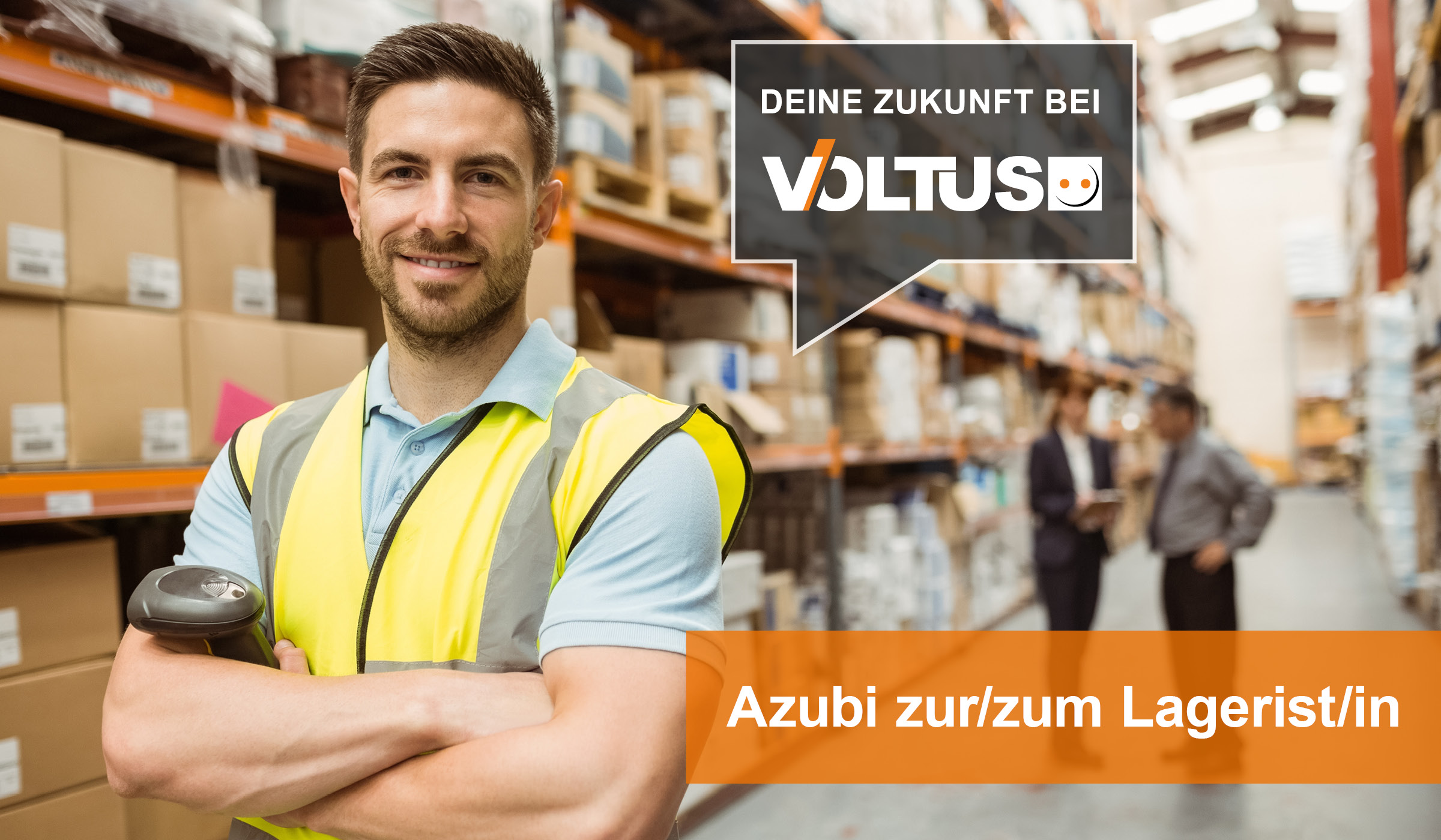 Deine Zukunft als Lagerist bei Voltus