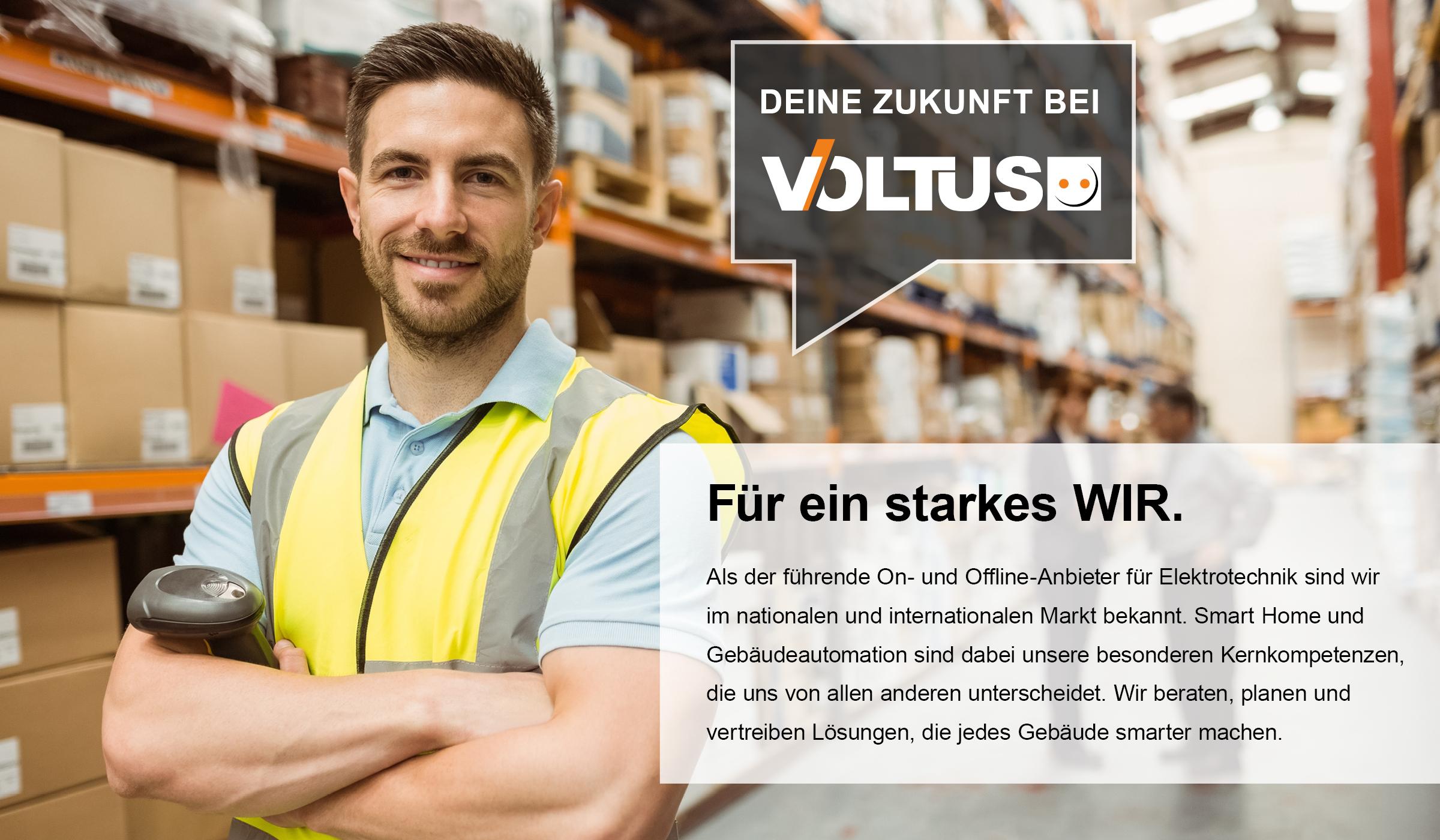 Deine Zukunft als Vollzeitangestellter bei Voltus