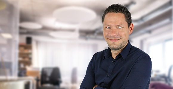 Betriebsleiter Martin Ruthenberg von Voltus