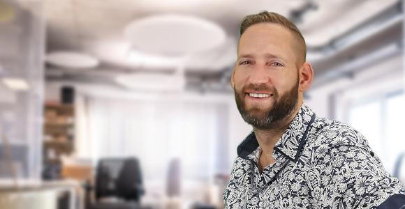 Der Einkaufsleiter Bastian Henning von Voltus